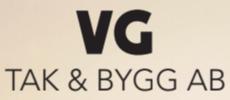 VG Tak & Bygg AB logo