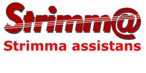 Strimma assistans handelsbolag logo