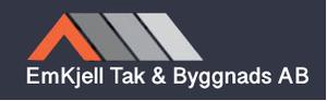 Logo – Emkjell Tak & Byggnads AB