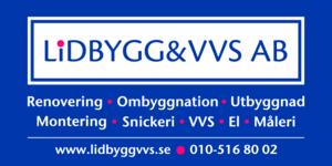 LIDBYGG&VVS AB logo