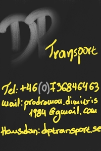 DP Transport logo