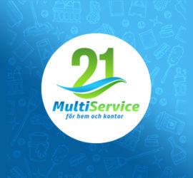 21 Multiservice logo