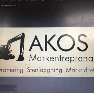 AKOS Markentreprenad logo