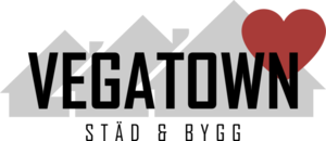 Vegatown Städ & Bygg logo