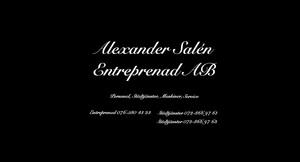 Logo – Alexander Salén Entreprenad AB