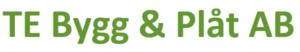 TE Bygg & Plåt AB logo