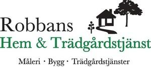 Logo – Robbans Hem & Trädgårdstjänst AB
