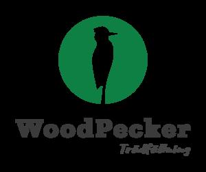 Logo – WoodPecker Trädfällning AB