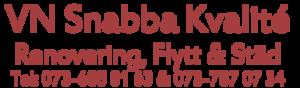 VN SNABBA KVALITÉ HANDELSBOLAG logo