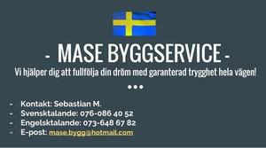 Mase Bygg Service logo