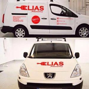 Elias Eliassons måleri och bygg service logo
