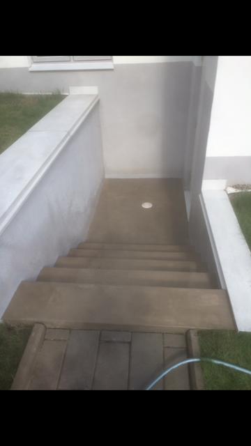 Fullständig renovering betongtrappor