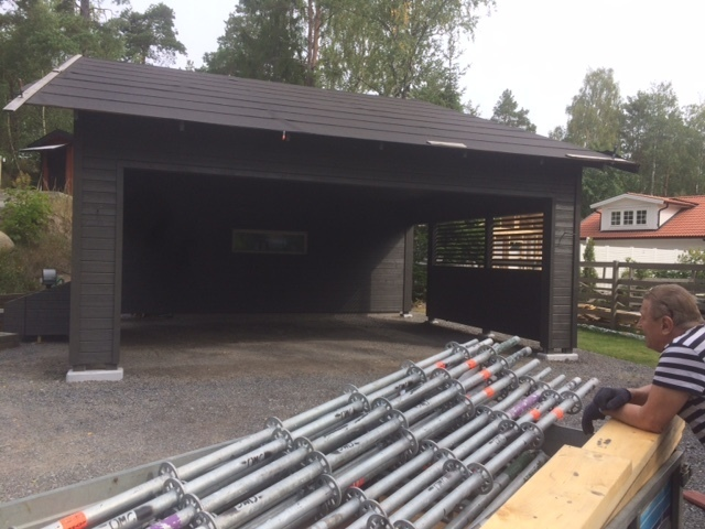 Målning garage