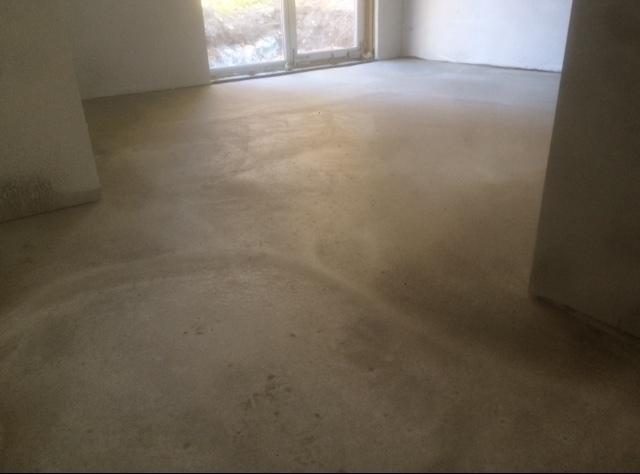 Nytt betonggolv