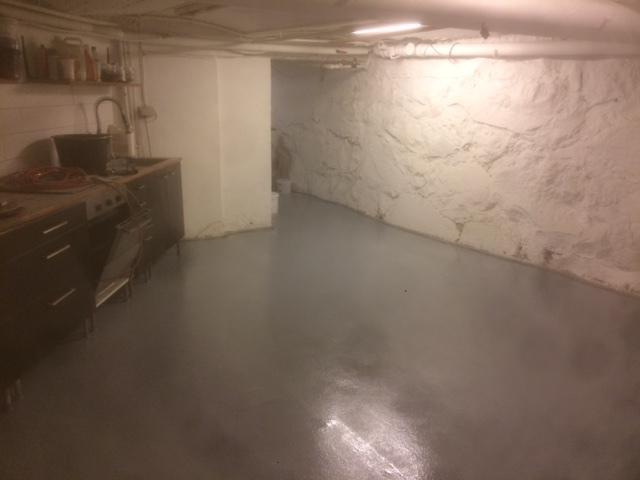 Polyurethan målning källare
