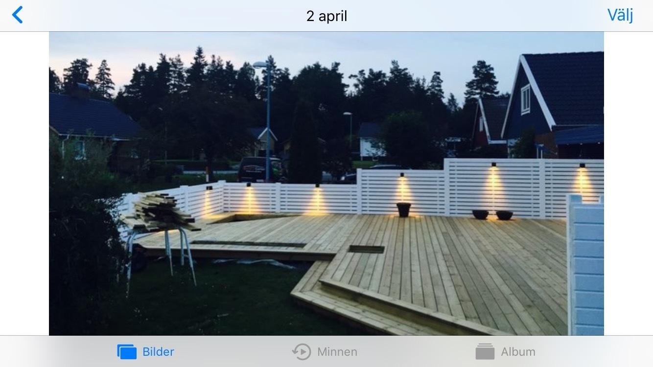 Altan bygge/Uterum/Terass/pooldäck