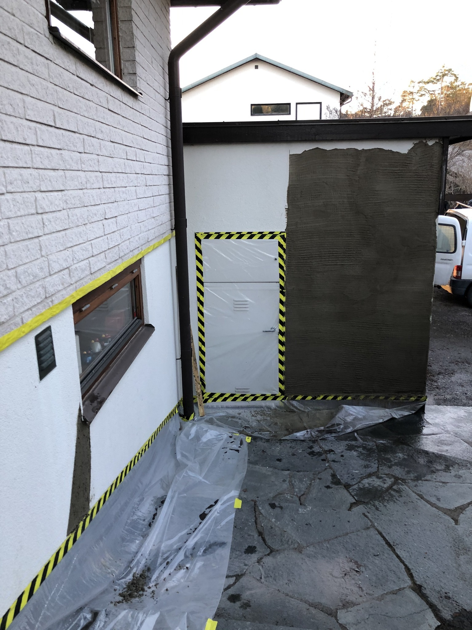 Fasadlagning Puts