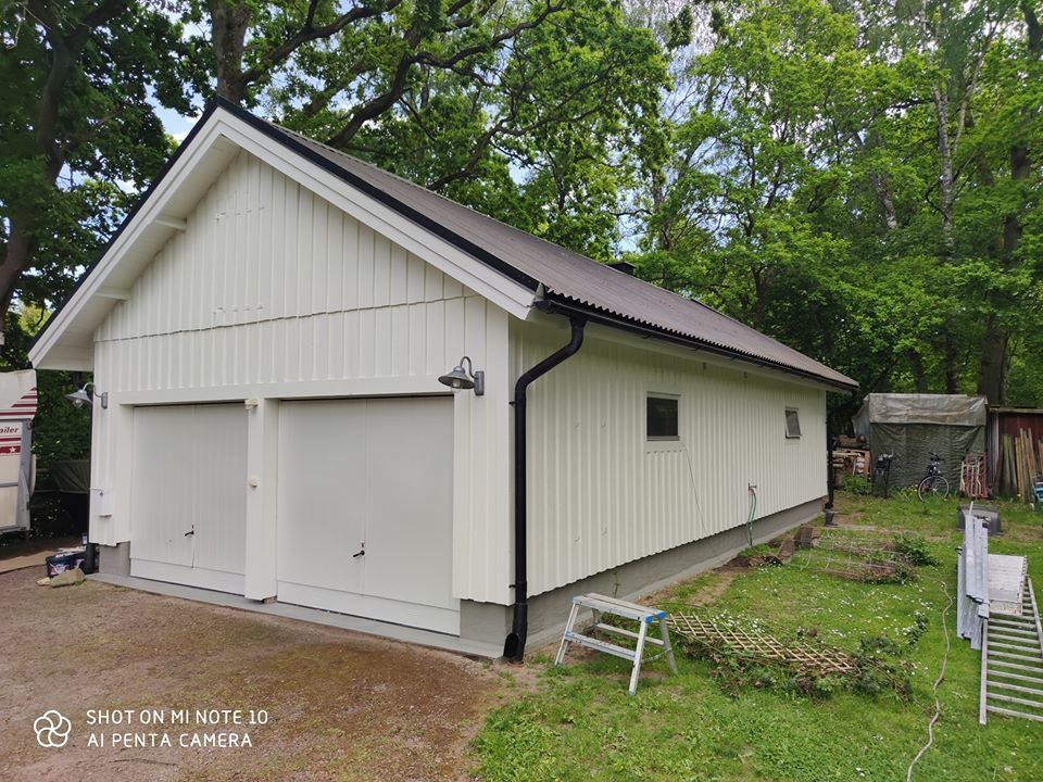Hus-Garage målning