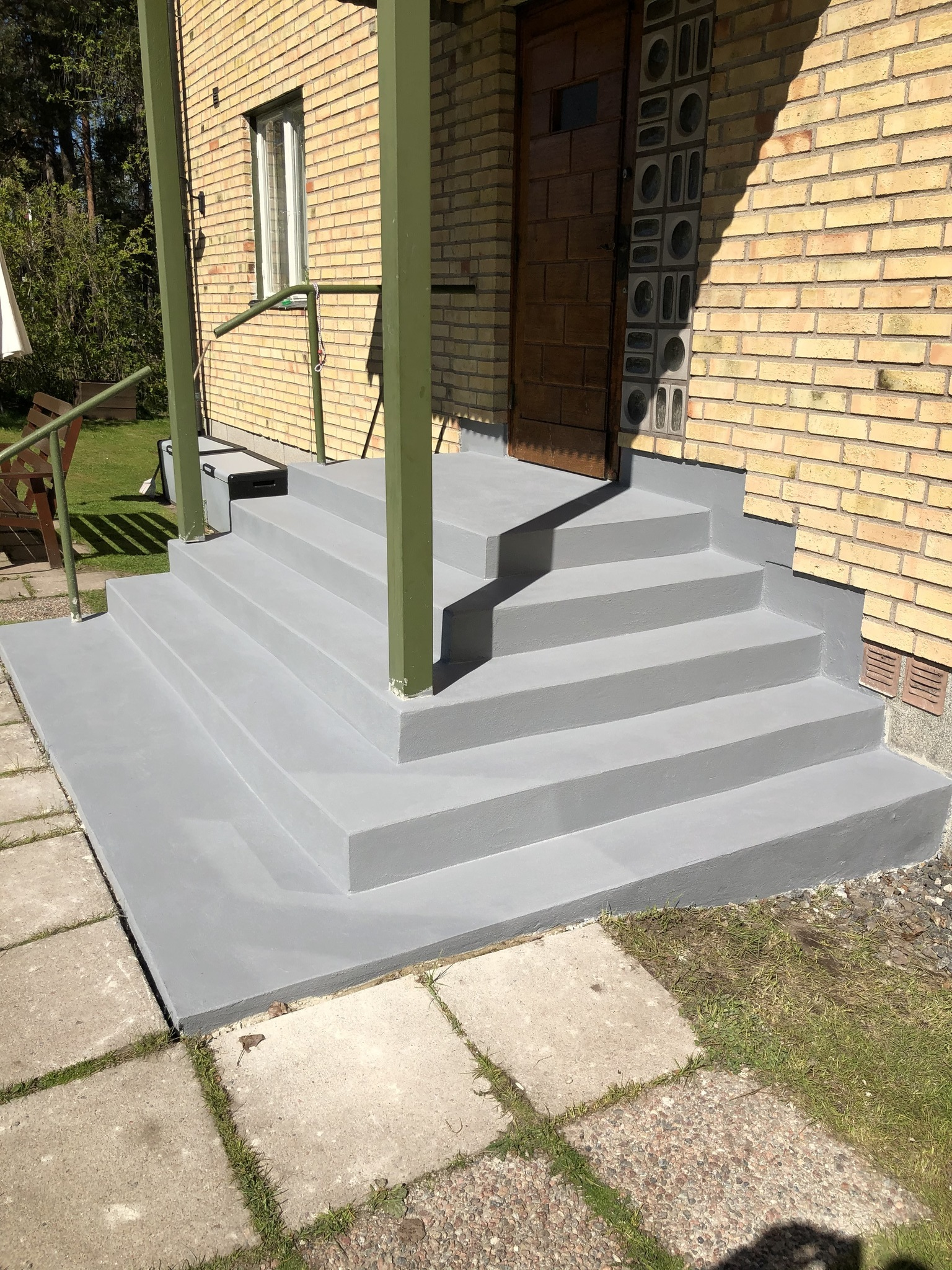 Trappor i betong