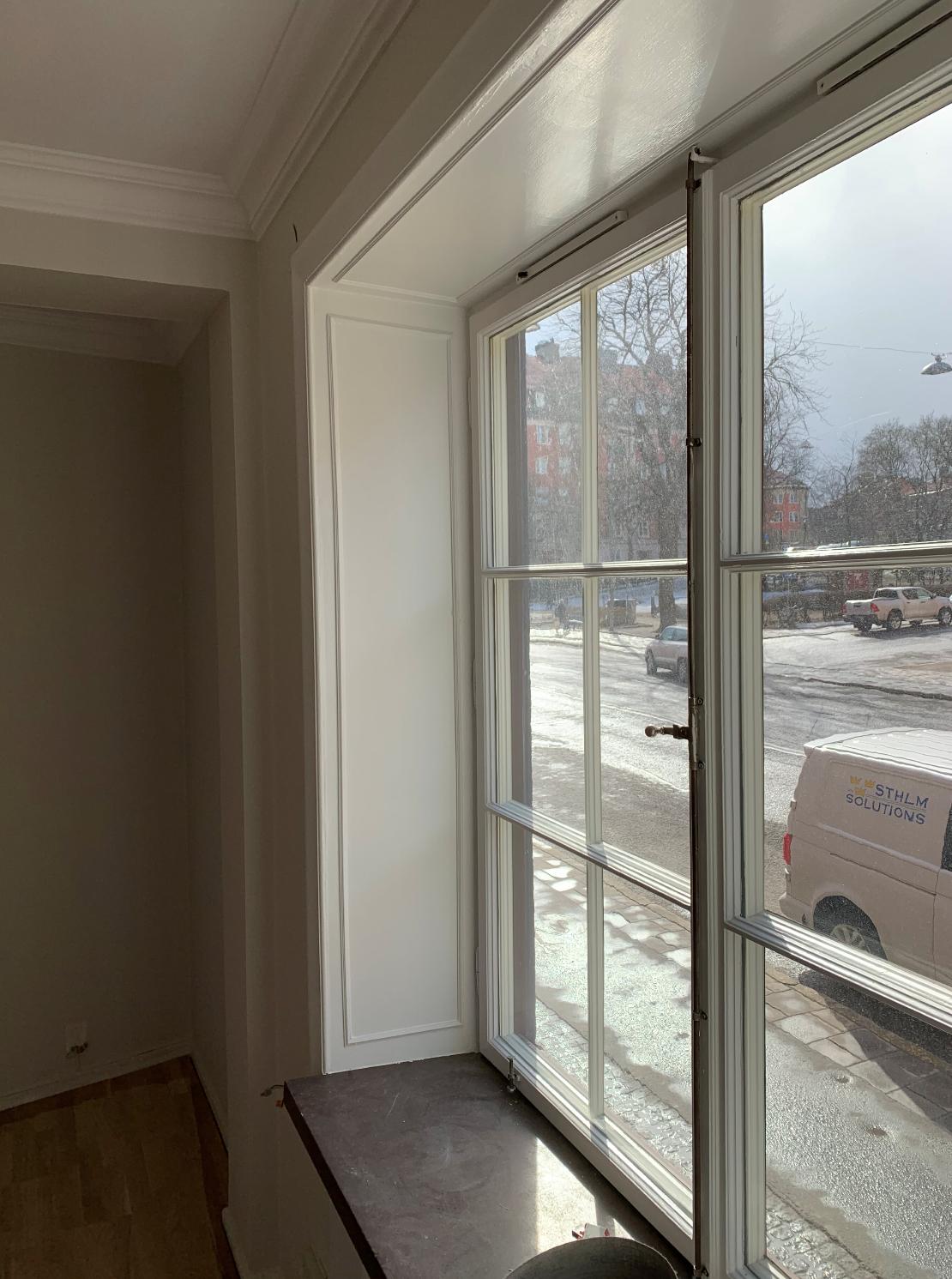 Totalrenovering av lägenhet på Trosgatan