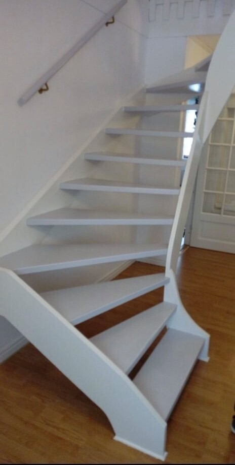 Målning av trappa