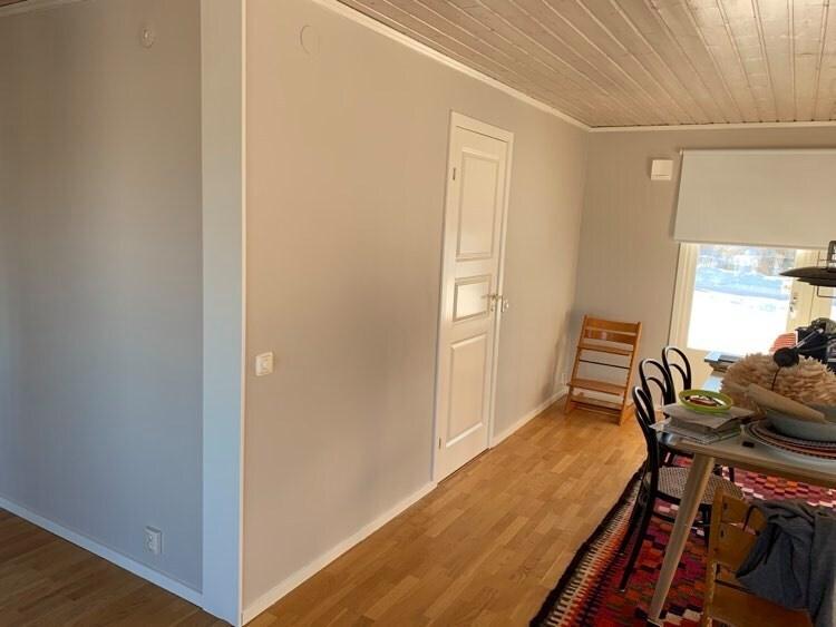 Inomhus målning