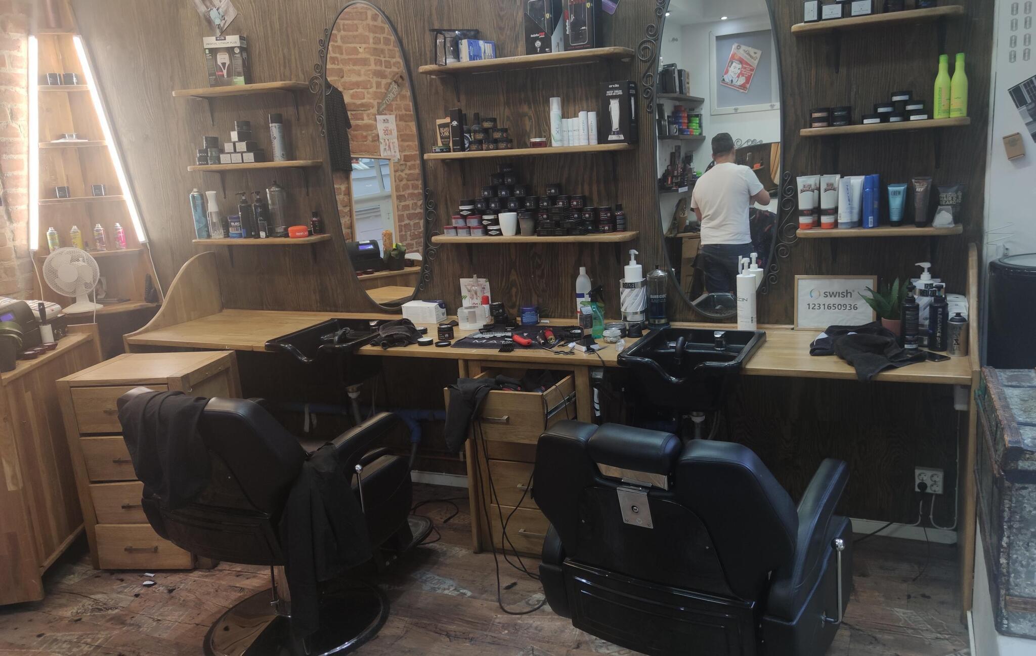 Barbershopsrenovering i Södermalm