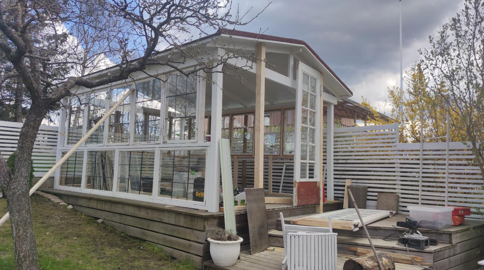 Växthus i Älvsjö