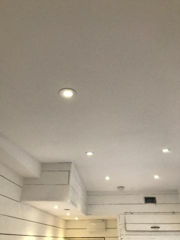 Renovering utav kök & innertak (spotlights)
