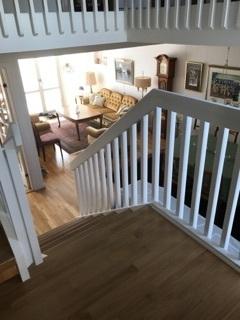 Byggnation utav inomhus trappa