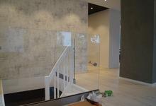 Renovering i ett hus i Trångsund
