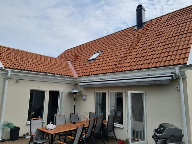 Bild för uppdrag: Renovering och målning av en husfasad i Trelleborg