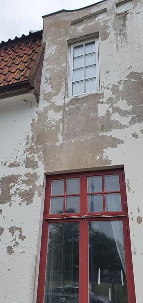 Bild för uppdrag: Målning och renovering av fasad i Eslöv